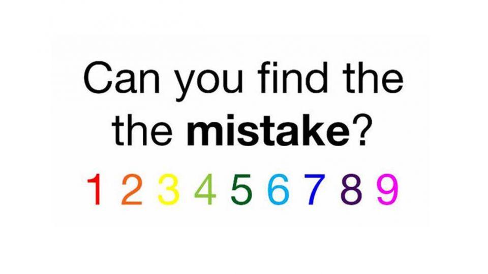 5秒鐘找錯!全球網友瘋狂轉發 「到底錯在哪」