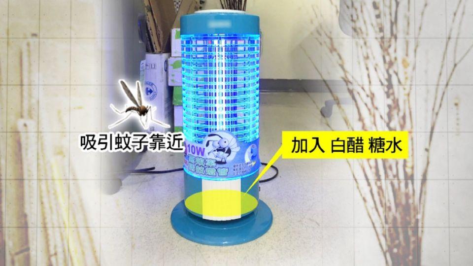 「靠人太近、燈光太強、放太低」 捕蚊燈恐失效