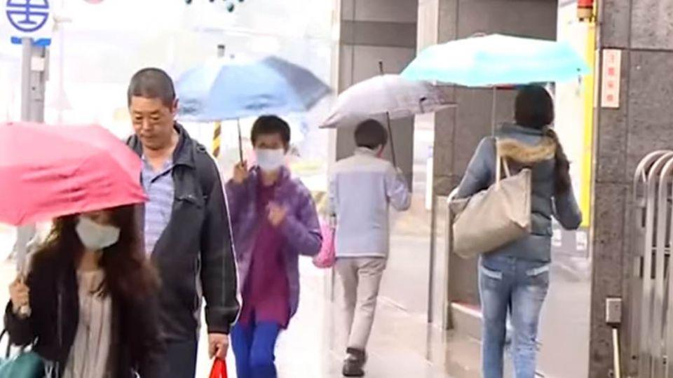 出門要帶傘!對流雲系旺盛 新竹以北防瞬間大雨
