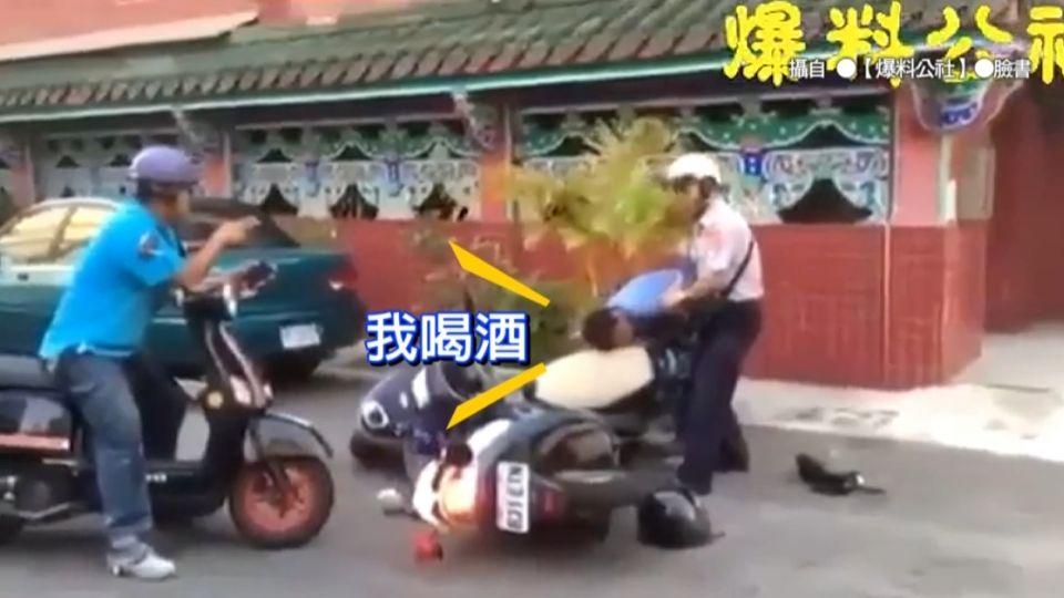 酒駕逃15公里 婦拒酒測騎車「正面衝撞警」