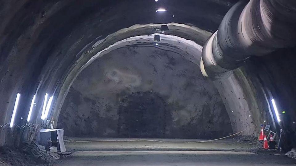 「蘇花改」7.9公里觀音隧道 今全線貫通