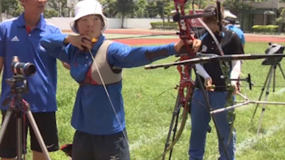 世界射箭大獎賽中華女團摘金 備戰奧運!