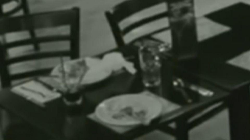 詭!「餓鬼」偷食物?餐盤被不知名力量吸走