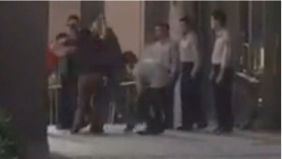「債務糾紛」鬧法院!還沒開庭 6男門口爆衝突