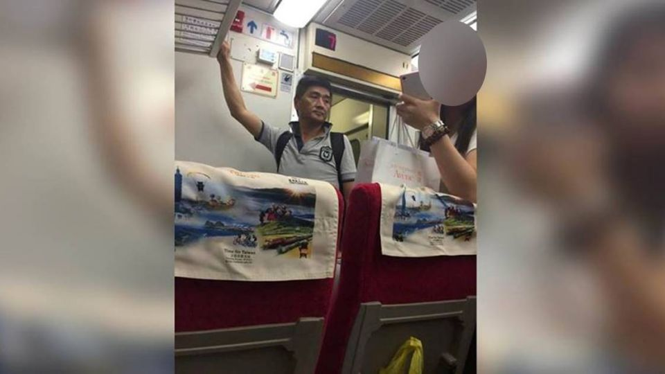李組長火車上辦案?網友驚問:他眉頭皺了嗎