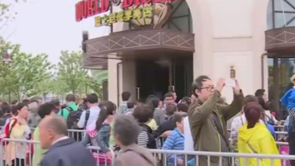 上海迪士尼試營運 員工親友獲邀免費試玩