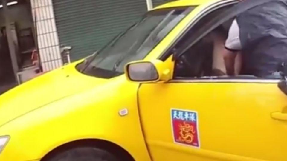 債務糾紛!小黃司機提汽油嗆車行 急破窗