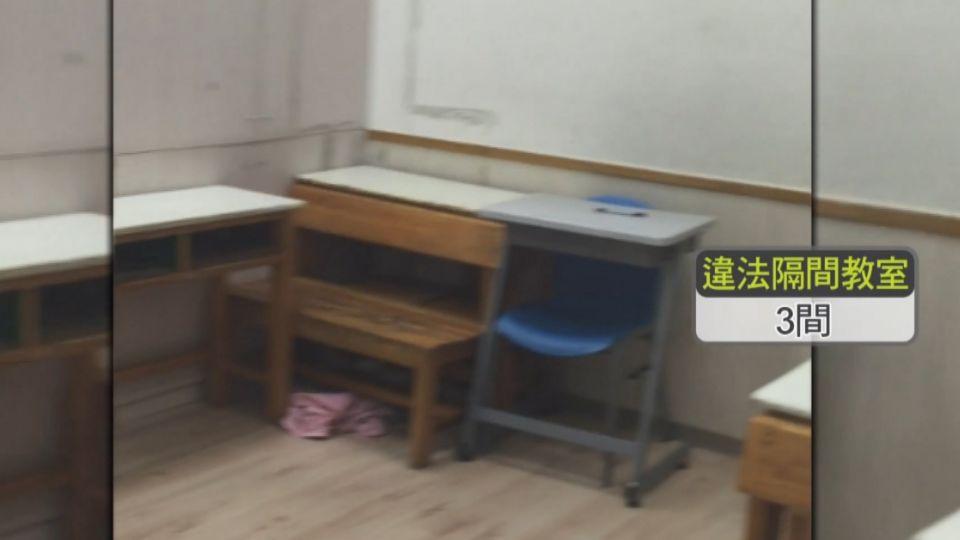 稽查「騙玩躲貓貓」 幼兒園超收學生藏密室