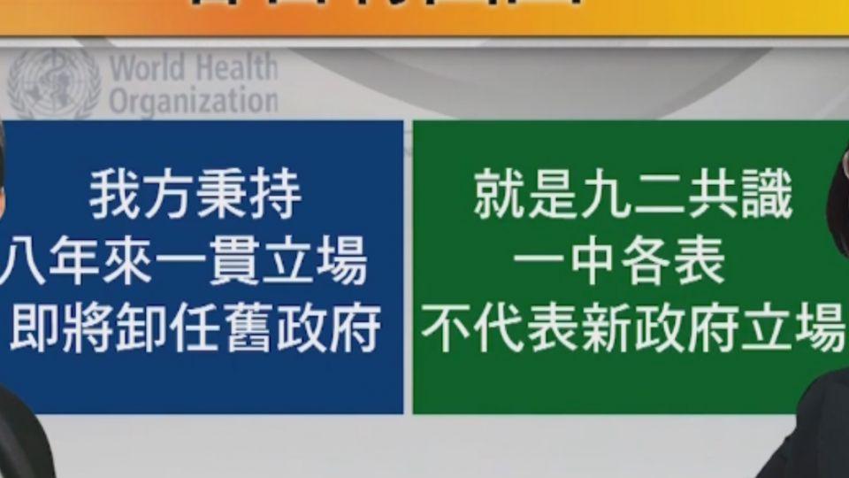 用「中華台北」出席WHA 葉金川曾被罵賣台
