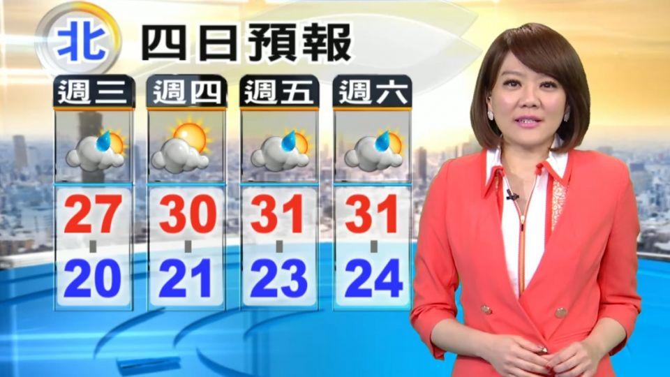 【2016/05/11】嘉義以南 也要留意會有局部較大雨勢