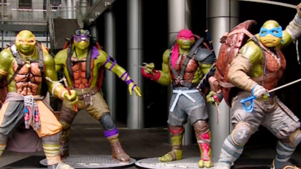 暑假檔電影激戰 四隻忍者龜重返大銀幕