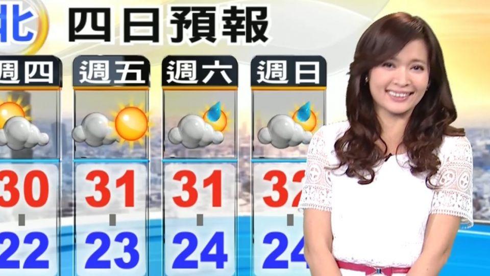 【2016/05/12】鋒面漸離 今西部陽光露臉 東部短暫雨
