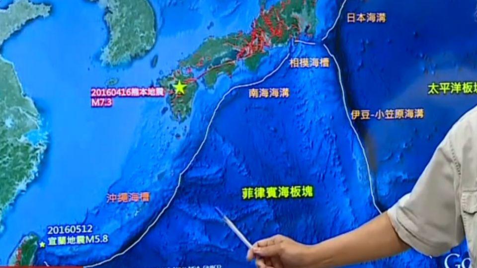 火環帶不平靜! 熊本、厄瓜多強震 全球強震活躍期?