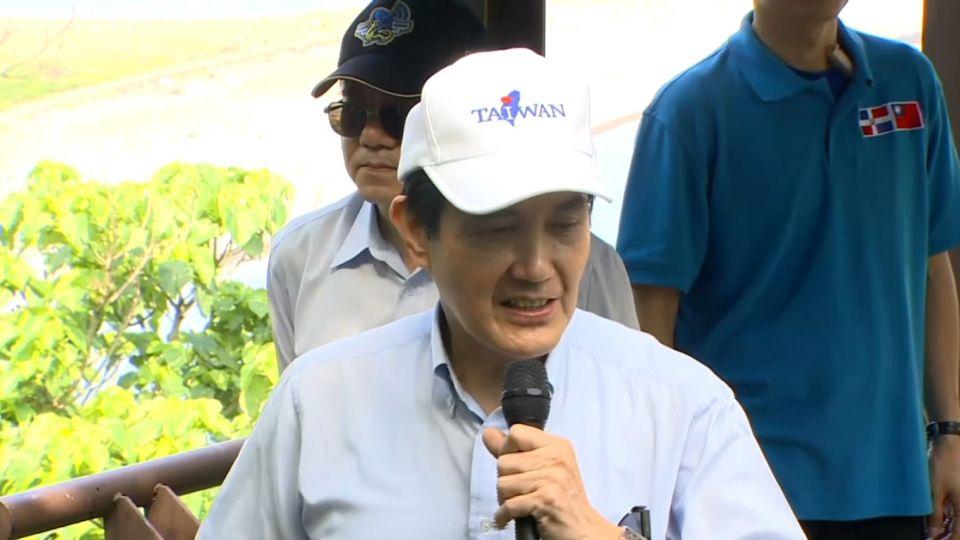 任內最後「拼圖」 馬英九總統登龜山島