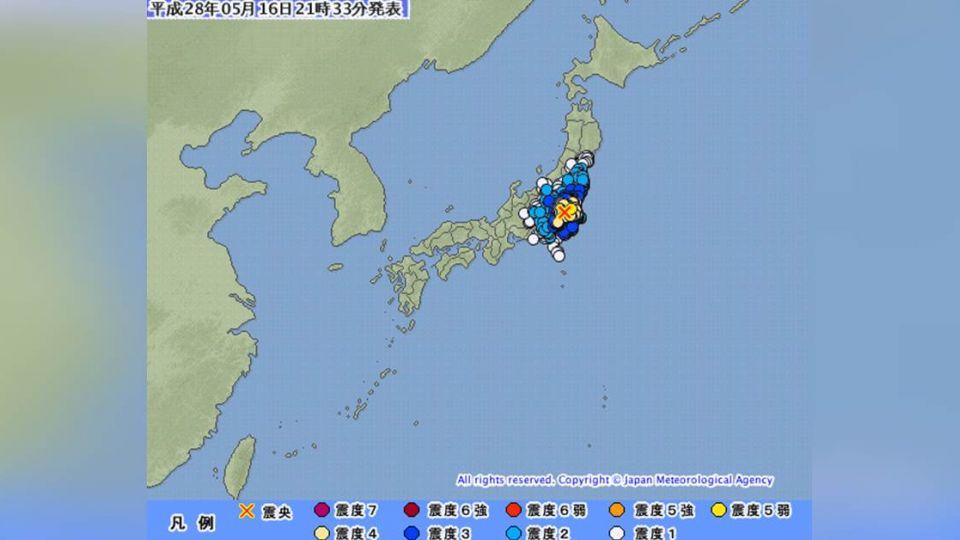 日本關東地區發生規模5.6強震 東京都搖晃有感