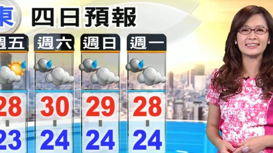 【2016/05/20】520陽光露臉悶熱 午後山區短暫雷陣雨