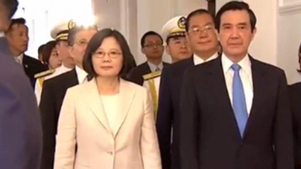 【不斷更新】蔡英文接下總統印信 小英時代正式開啟