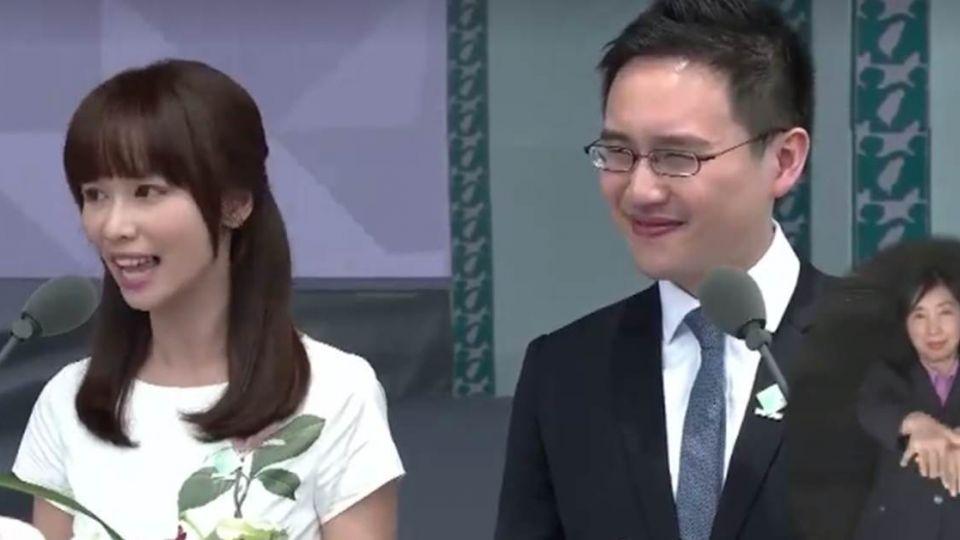 【影片】典禮舞台新「嬌」點!她讓網友都...戀愛了
