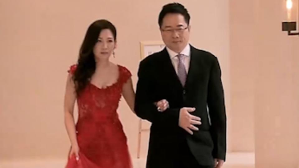 為媽媽結婚? 蔡正元跟昔「馬尾妹」結婚
