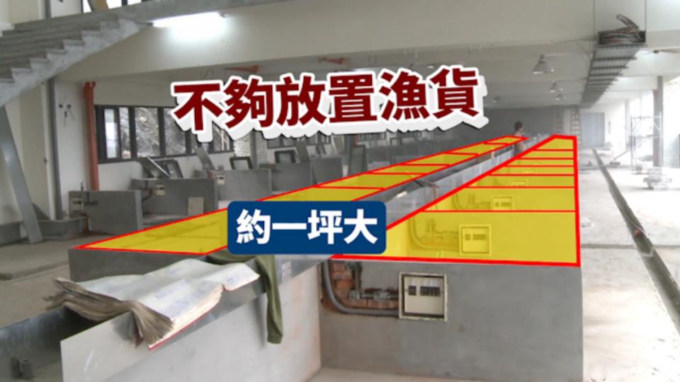 大溪漁港現撈攤位僅39個 漁販控縣府斷生計