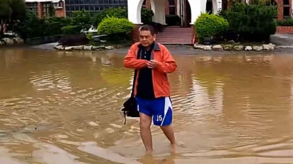 金門「強降雨」 地下室變汪洋 飯店業損百萬