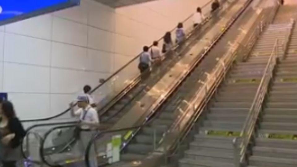 台鐵手扶梯鬧「機瘟」 8月壞418次 「出包王」松山站