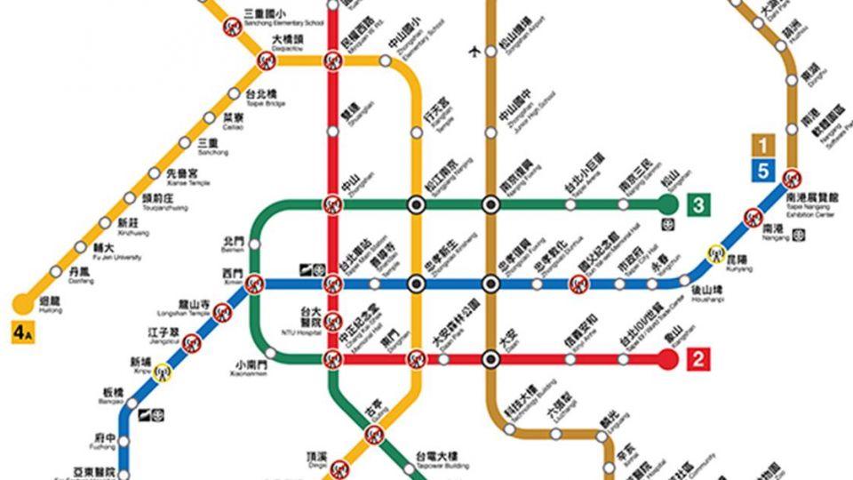 你掉入捷運「黑洞」了嗎?「北捷必斷線地圖」升級