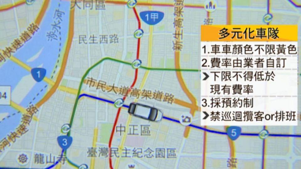 「多元化車隊」App預約! 顛覆「路邊招車」習慣