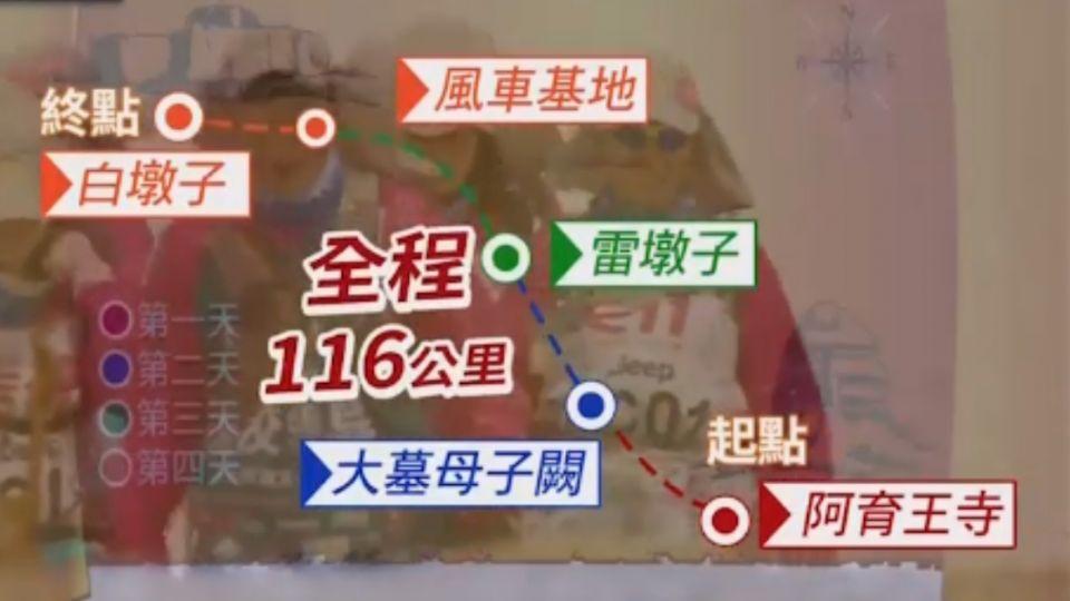 敦煌「戈壁」路跑 政大EMBA46人跨海挑戰