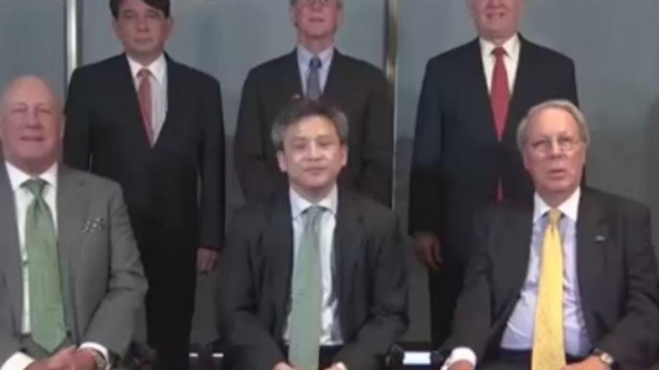 AIT梅建華與5位前處長 拍影片喊「美台關係讚」