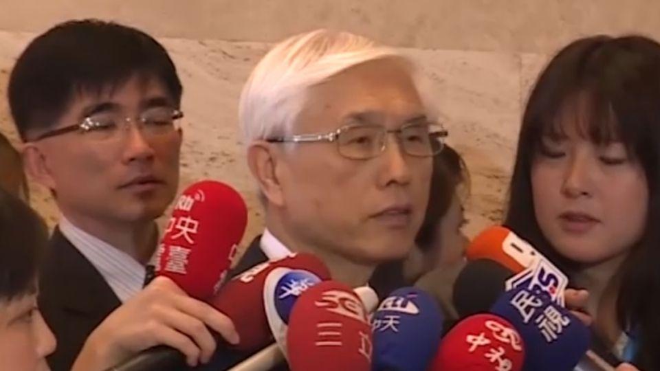 巧遇陸代表李斌 小英上任首次部長會面