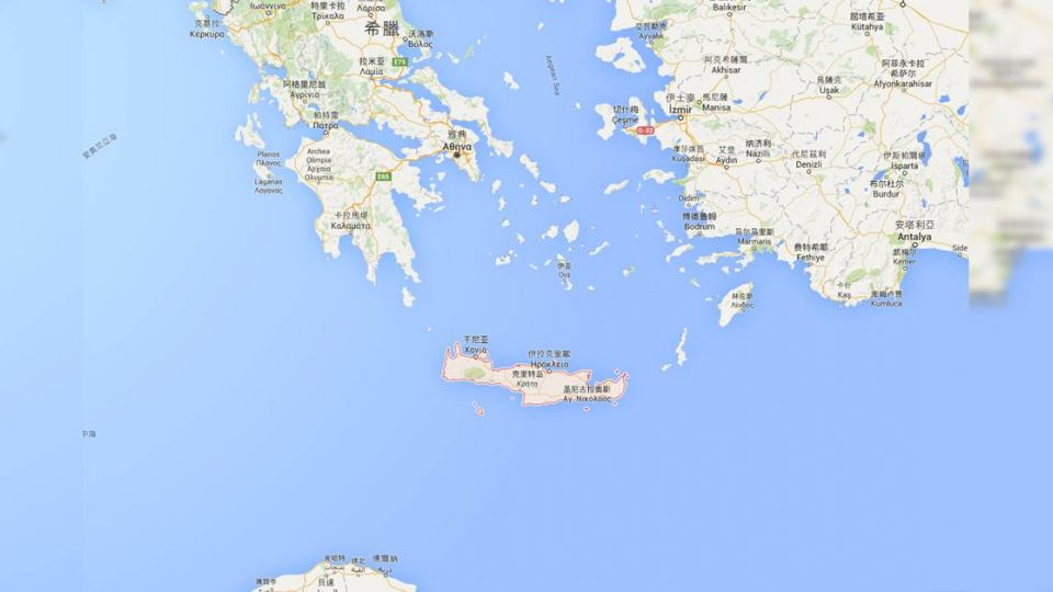 希臘克里特島5.5強震  無災情傳出