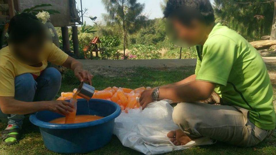遊泰注意!「橘子汁」成分沒橘子 警方逮黑心夫妻