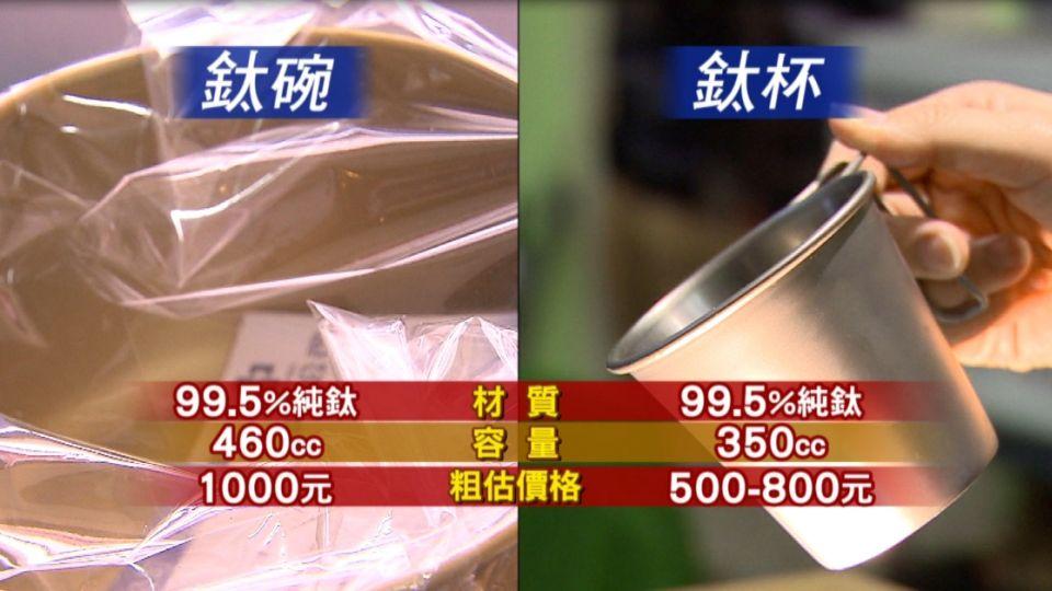 超夯! 中鋼股東紀念品「鈦碗」值千元
