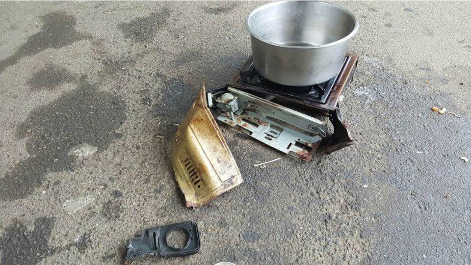 【最新消息】楊梅一中學驚傳卡式瓦斯爐爆炸 7名學生遭燙傷
