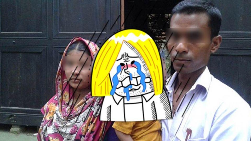 【影片】絕望!孟加拉2歲童不斷「腦脹」 腫如巨球沒錢治療