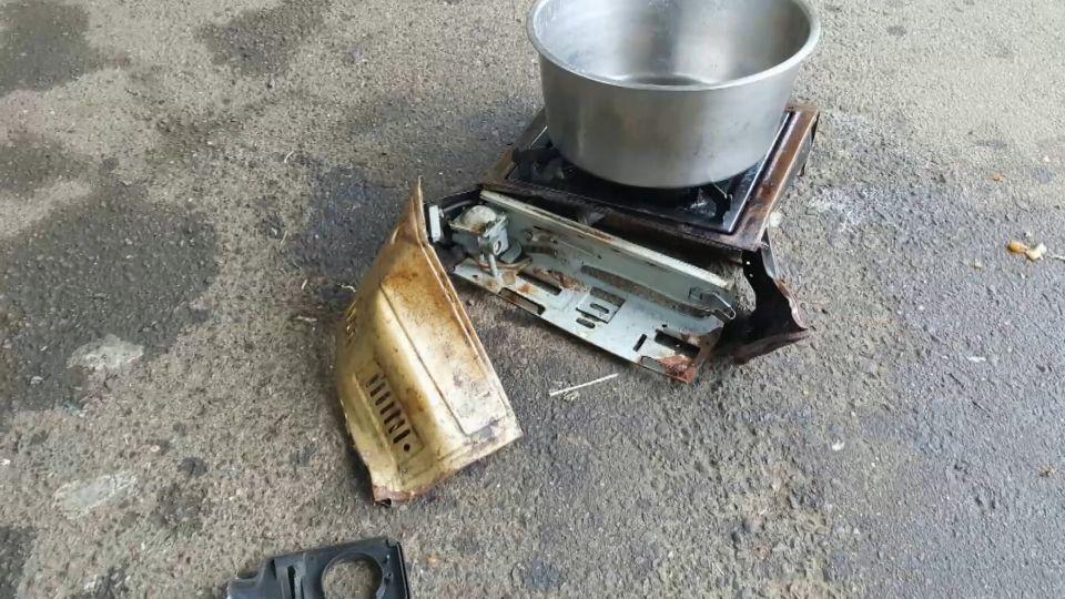 砰! 童軍課野炊瓦斯爐氣爆 7生灼傷送醫