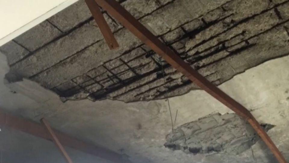 轟!禍從天降 天花板突掉落 2社會局員工傷