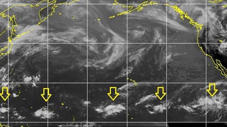 跟著梅雨「遲到」 鄭明典:目前看不到颱風徵兆