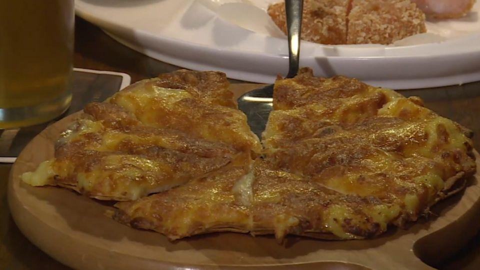 臭味相投?榴槤起司披薩 上海就愛這一味