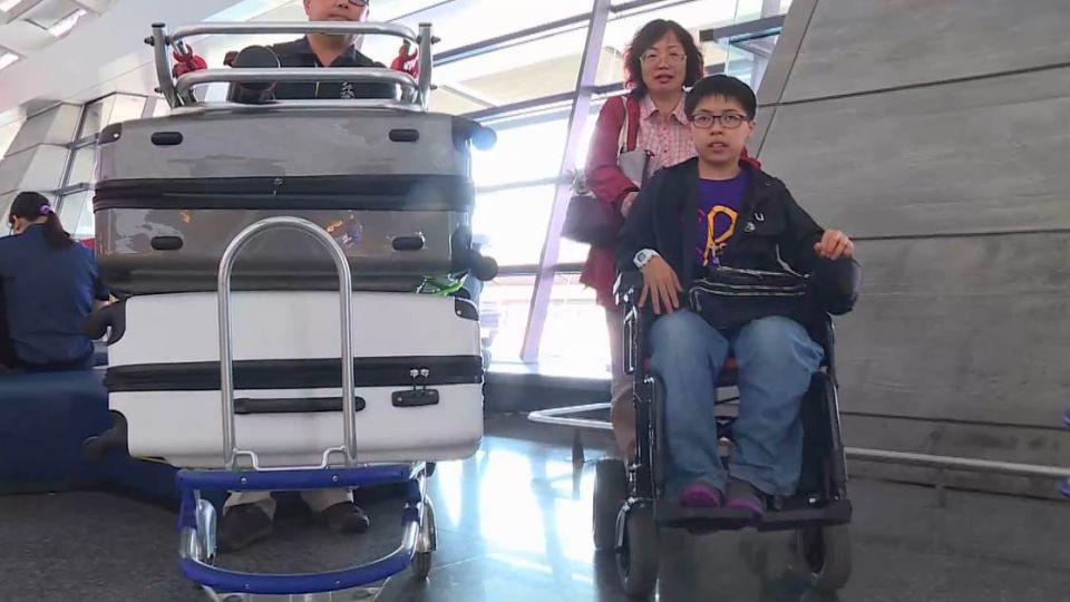 【影片】腦麻生黃筱智登國際論壇 航班遭取消卻不知情