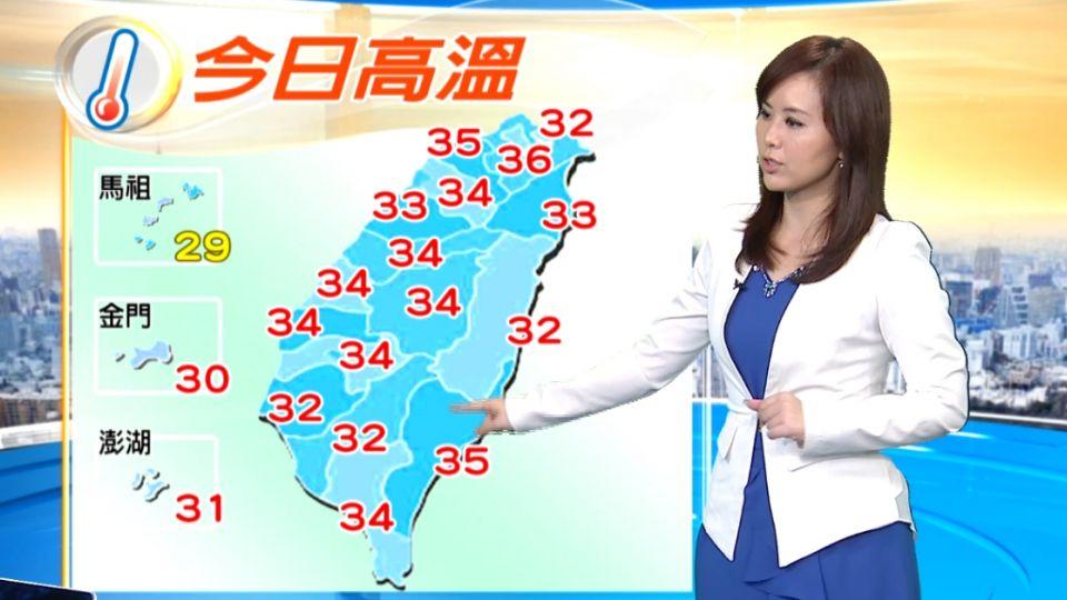 【2016/05/29】防曬多喝水! 今高溫悶熱 紫外線毒辣