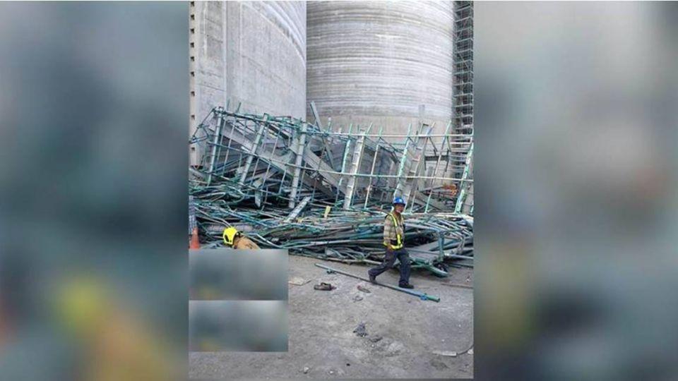 【最新】台電傳鷹架意外倒塌 5人受傷2人死亡
