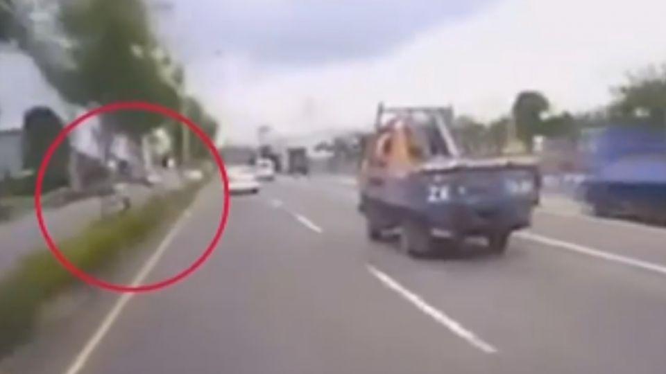 騎士逆向被撞死 貨車閃避不及「被要求賠償」