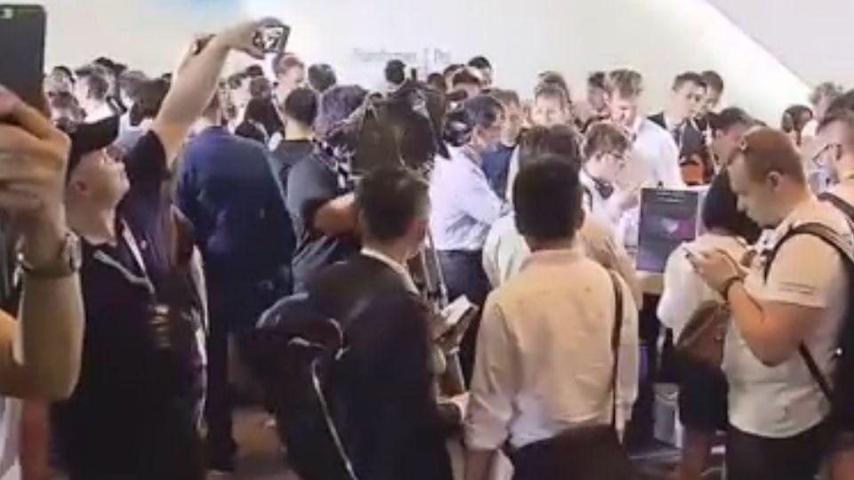 台北國際電腦展前日 華碩機器人萌翻外媒