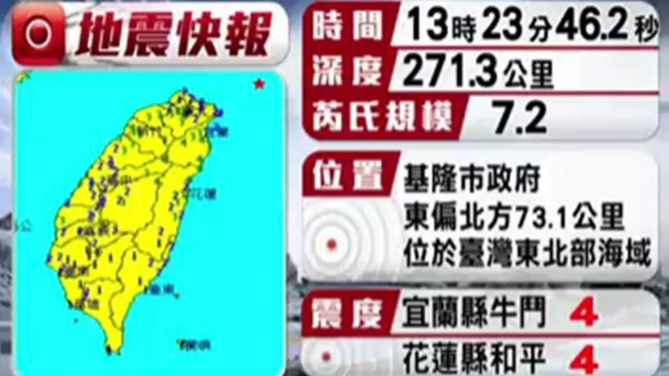 921以來規模最大!擔心餘震 氣象局要民眾「免驚」