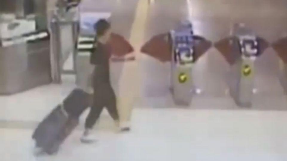 行李箱被偷! 高鐵到站才發現 損失20萬