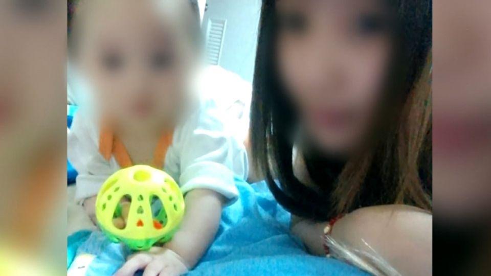 10月男嬰疑遭虐腦死 無牌保母卸責