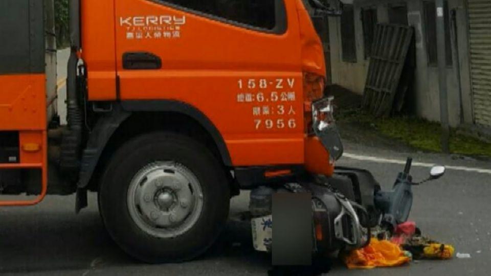 騎士遭物流車撞昏迷 路過護理師CPR救回