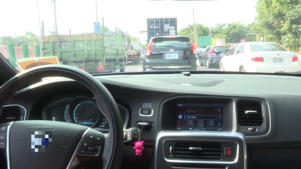 車主用自動跟車系統 「車距不足」遭開罰